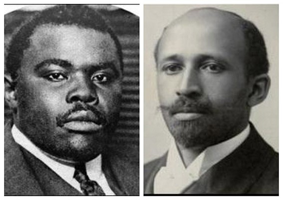 Marcus Garvey and W.E.B. Du Bois